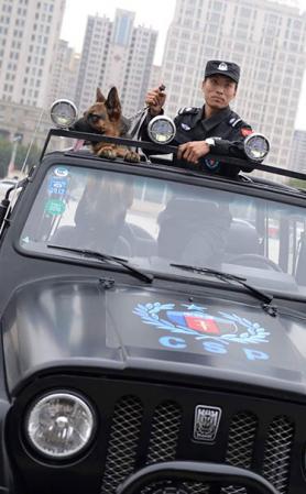 武装押运 中特保(临沂)安保股份有限公司安保护航